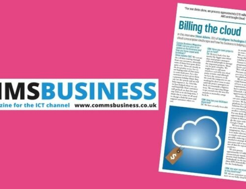 Intelligent Billing featured in Comms Business